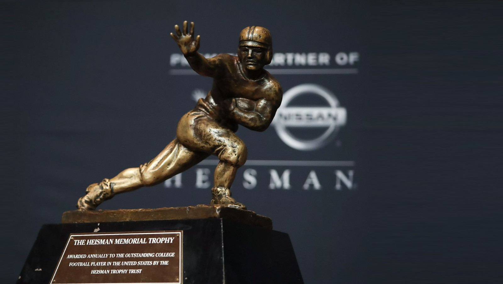 Mayfield leads Barkley, Adams on updated Heisman Trophy odds