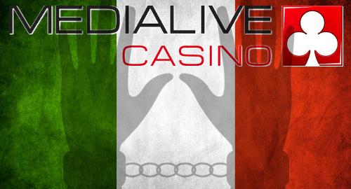 Medialive Casino directors arrested in Italian crackdown