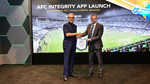 New mobile app to strengthen AFC's fight against match-fixing