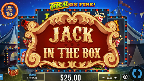 Pariplay springs Jack in the Box casino slot on iGaming Industry