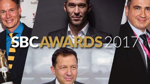 SBC Awards 2017:  Recognizing sports betting industry's crème de la crème