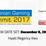 Ukrainian Gaming Industry Association (UGIA) announces December 8 as the new date for the Ukrainian Gaming Summit 2017