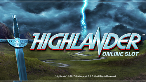 The game has arrived and the legend lives on: Microgaming's Highlander online slot is live today