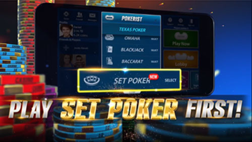 "KamaGames announces the launch of their latest game ""SET POKER"""