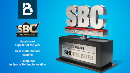 SBC Awards 2017 - BtoBet shortlisted in 3 categories