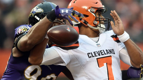 Winless Browns among underdogs on NFL week 16 betting lines