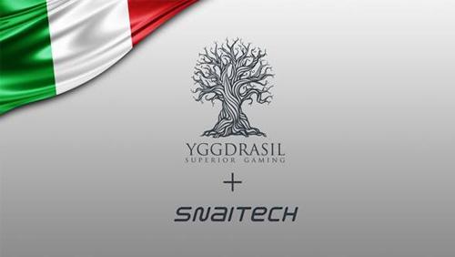 Yggdrasil expands Italian footprint with Snaitech deal