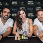 Aussie Millions ambassadors Billy Slater, Adam Goodes & Sam Abernathy launch the 2018 main event