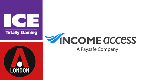 Income Access to Exhibit at ICE Totally Gaming & London Affiliate Conference