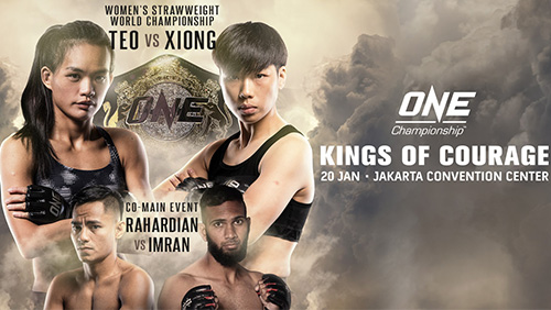 Live ONE Championship bouts to stream on Twitter beginning 20 January