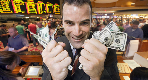 Nevada sportsbooks set new revenue, betting handle records