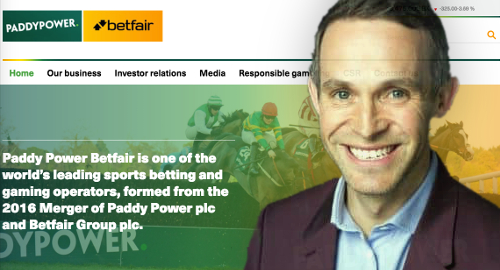 Paddy Power Betfair's new CEO shuffles senior management