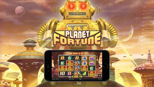 Play'n GO back to the future with Planet Fortune