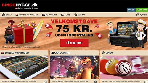 Spillehallen.dk launches Betsoft Games on New Site Bingohygge.dk