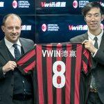 Vwin sponsor AC Milan; UK online betting sponsorship own goal