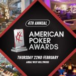 The American Poker Awards return with 20 categories and a media content focus