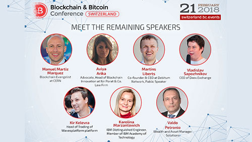 Blockchain & Bitcoin Conference Switzerland to examine non-standard blockchain application