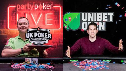 Bryce wins partypoker UK Poker Championships; Wiborg wins Unibet Open London
