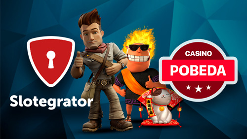Casino Pobeda has now games from Microgaming thanks to Slotegrator