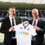 Expect Swansea City's home shirts to look a little different at Burnley match