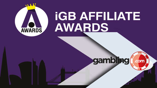 Gambling.com Group Plc Wins the iGB Affiliate Award for Best Casino Website