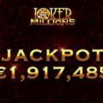 LeoVegas player lands €1.9M jackpot on Yggdrasil's Joker Millions