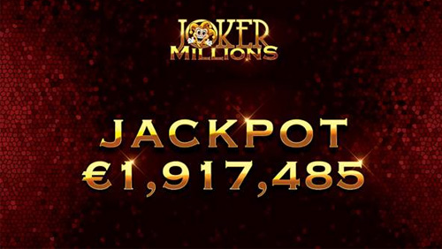 LeoVegas player lands €1.9M jackpot on Yggdrasil's Joker Millions