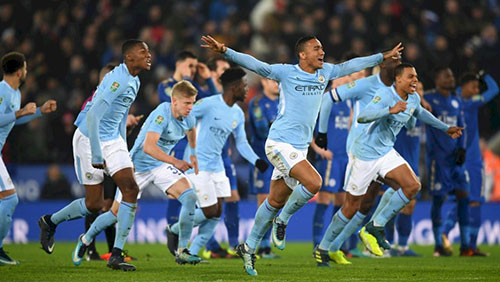 Man City win the Carabao Cup as Treble looms large