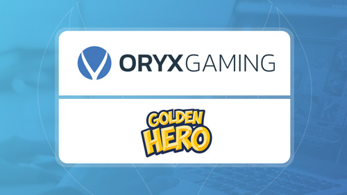 ORYX Gaming adds Golden Hero games to its platform