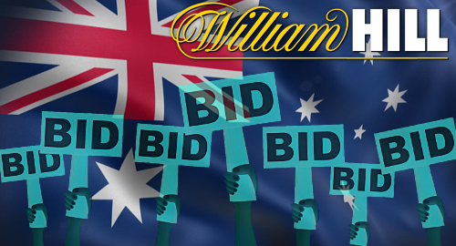Report: four bidders for William Hill's struggling Aussie division