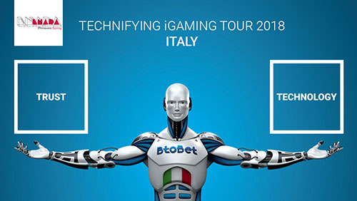 2018: New scenario for the Italian gaming market – BtoBet's chairman Alessandro Fried discusses how to grasp the potential of the market in Italy at Enada Spring.