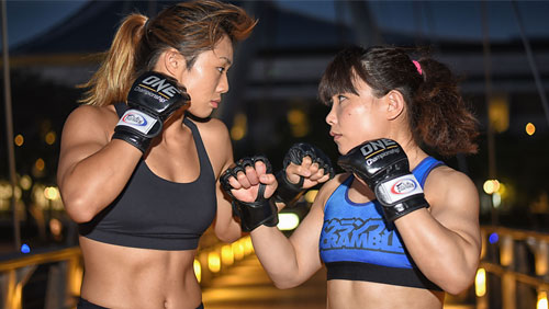 ANGELA LEE AND MEI YAMAGUCHI TO BATTLE FOR ONE WOMEN'S ATOMWEIGHT WORLD CHAMPIONSHIP AT ONE: UNSTOPPABLE DREAMS