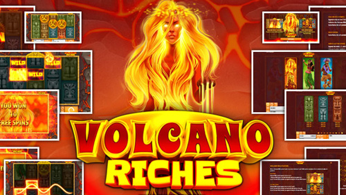 The heat is on with Quickspin's Volcano Riches