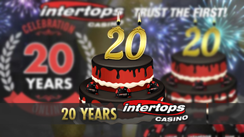 Intertops Casino celebrates 20th birthday