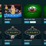 Live blackjack tables at Nissi Beach Online Casino