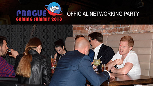 Prague Gaming Summit 2018 official networking party will be sponsored by VIGE2018