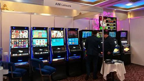R. Franco Group's SBG MULTIGAME stars at Dublin tradeshow