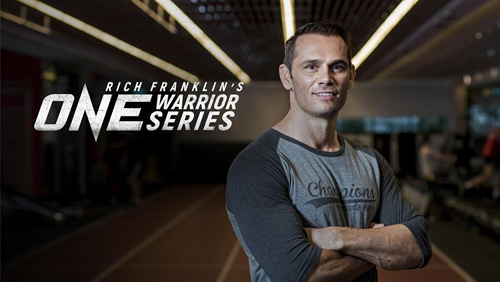 Rich Franklin's ONE Warrior Series to host inaugural event in Singapore on 31 March