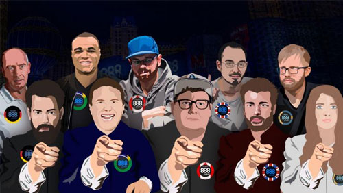 888Poker's 8-Team WSOP promo returns with a new team and a new set of rules