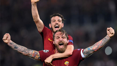 Champions League Review: Roma and Liverpool advance to semi-finals