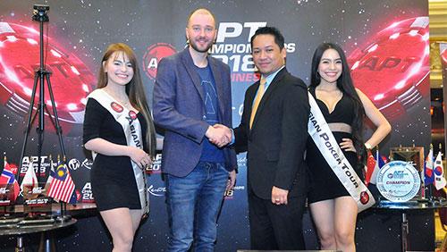 Forget clubbing baby seals; the crypto race begins now; CoinPoker partner APT