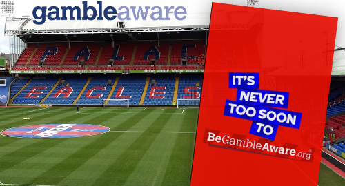 Crystal Palace inks responsible gambling deal with GambleAware