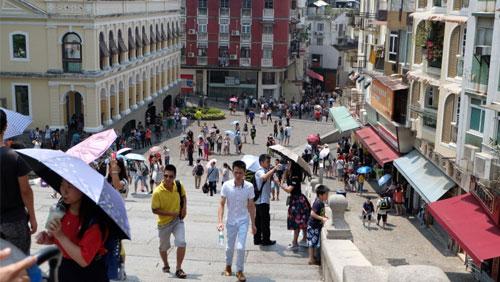 Macau tourist arrivals drop 5% over Easter break