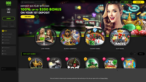 888casino unveils sleek new website