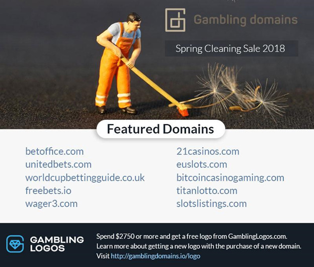 Gambling Domains spring cleaning sale