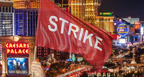 Las Vegas casino workers could walk off the job June 1