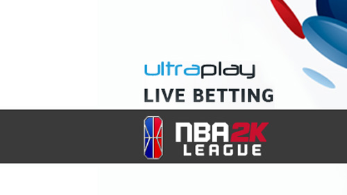 Live betting on NBA 2K Leaguenow available through UltraPlay
