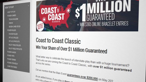 WSOP.com Coast to Coast nails guarantee; Monroe wins third ring in New Orleans