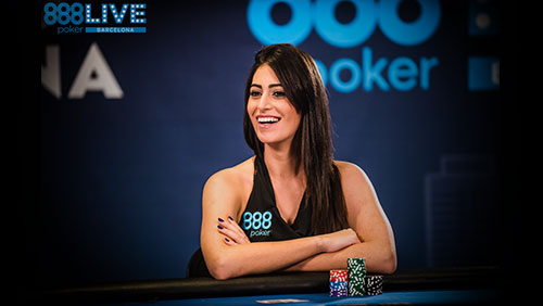 "888Live Barcelona: Vivian Saliba - ""I found myself within poker."""