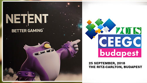 NetEnt confirmed as Main Stage Sponsor at CEEGC 2018 Budapest